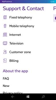 Microsoft Lumia 950 XL - Applications - MyProximus - Step 20