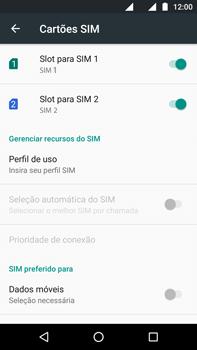 Motorola Moto G (4ª Geração) - Rede móvel - Como ativar e desativar uma rede de dados - Etapa 8