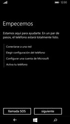 Microsoft Lumia 535 - Primeros pasos - Activar el equipo - Paso 7