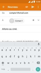 Wiko Rainbow Lite 4G - E-mails - Envoyer un e-mail - Étape 8