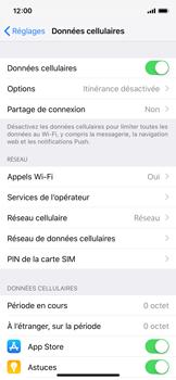 Apple iPhone X - iOS 12 - Réseau - Changer mode réseau - Étape 4