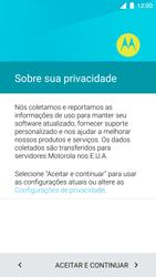 Motorola Moto Turbo - Primeiros passos - Como ativar seu aparelho - Etapa 8