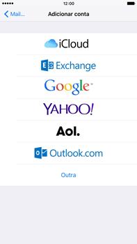 Apple iPhone 6s Plus - Email - Adicionar conta de email -  5