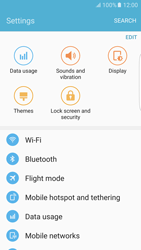 Samsung Samsung G925 Galaxy S6 Edge (Android M) - Wi-Fi - Connect to Wi-Fi network - Step 4