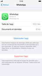 Apple iPhone 6s - iOS 11 - Applications - Supprimer une application - Étape 6