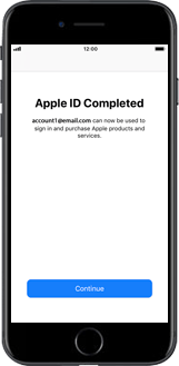 Apple iPhone X - Applications - Create an account - Step 20