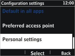 Nokia Asha 302 - Internet - Manual configuration - Step 5