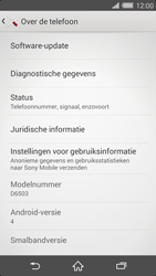 Sony D6503 Xperia Z2 - Software updaten - Update installeren - Stap 5