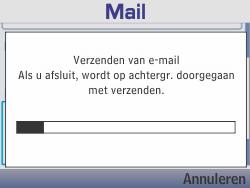 Nokia Asha 210 - E-mail - Hoe te versturen - Stap 19