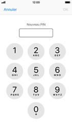 Apple iPhone SE - iOS 11 - Sécuriser votre mobile - Personnaliser le code PIN de votre carte SIM - Étape 8