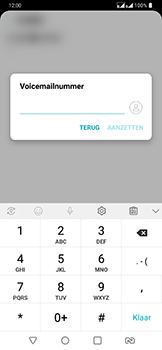 LG g7-fit-dual-sim-lm-q850emw - Voicemail - Handmatig instellen - Stap 8