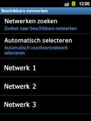 Samsung S5360 Galaxy Y - Netwerk - gebruik in het buitenland - Stap 10