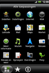HTC A510e Wildfire S - Internet - internetten - Stap 2