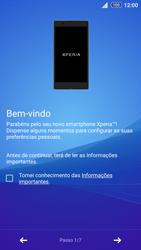 Sony Xperia Z3 Plus - Primeiros passos - Como ligar o telemóvel pela primeira vez -  5