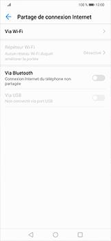 Huawei Mate 20 lite - Internet et connexion - Partager votre connexion en Wi-Fi - Étape 5