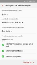 Samsung Galaxy S6 - Email - Adicionar conta de email -  7