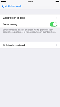 Apple Apple iPhone 6s Plus iOS 10 - Internet - Dataroaming uitschakelen - Stap 5