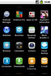 Alcatel OT-991 Smart - Internet - hoe te internetten - Stap 2