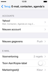 Apple iPhone 4 S iOS 7 - E-mail - Handmatig instellen (yahoo) - Stap 10