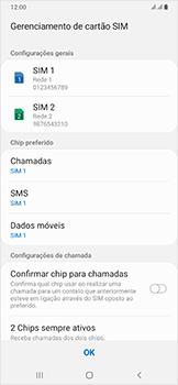 Samsung Galaxy A50 - Primeiros passos - Como ativar seu aparelho - Etapa 20