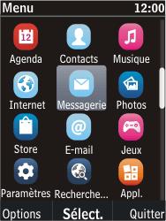 Nokia C2-05 - MMS - Envoi d