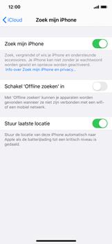 Apple iphone-x-met-ios-13-model-a1901 - Beveiliging en ouderlijk toezicht - Zoek mijn iPhone inschakelen - Stap 13