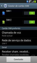 Samsung Galaxy Fresh Duos - Primeiros passos - Como ligar o telemóvel pela primeira vez -  5