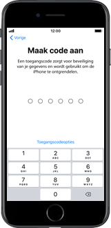 Apple iphone-6-met-ios-11-model-a1586 - Instellingen aanpassen - Hoe gebruik ik de Automatisch inloggen-optie - Stap 14
