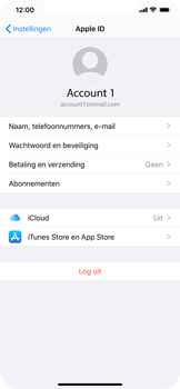 Apple iPhone 11 Pro Max - Data - maak een back-up met je account - Stap 8
