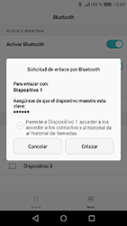 Huawei Y6 (2017) - Bluetooth - Conectar dispositivos a través de Bluetooth - Paso 6