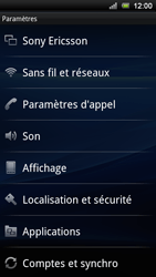 Sony Ericsson Xperia Ray - Messagerie vocale - configuration manuelle - Étape 5
