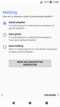 Sony Xperia XA2 Ultra - E-mail - Handmatig instellen - Stap 21