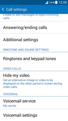 Samsung G530FZ Galaxy Grand Prime - Voicemail - Manual configuration - Step 7