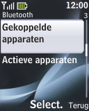 Nokia 2330 classic - Bluetooth - Headset, carkit verbinding - Stap 6