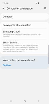Samsung Galaxy S10 Plus - Données - créer une sauvegarde avec votre compte - Étape 5