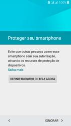Samsung Galaxy J3 Duos - Primeiros passos - Como ativar seu aparelho - Etapa 14