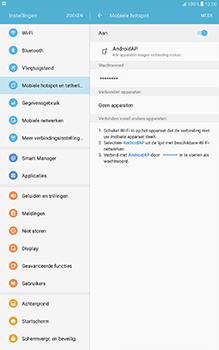 Samsung Galaxy Tab A 10.1 (SM-T585) - WiFi - Mobiele hotspot instellen - Stap 12