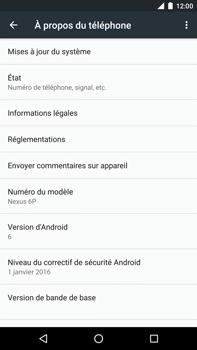 Huawei Google Nexus 6P - Réseau - Installation de mises à jour - Étape 6