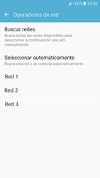 Samsung Galaxy S7 - Red - Seleccionar una red - Paso 8