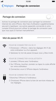 Apple iPhone 7 Plus - iOS 11 - Internet et connexion - Partager votre connexion en Wi-Fi - Étape 6