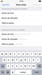 Apple iPhone 6s - iOS 12 - Email - Configurar a conta de Email -  14