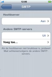 Apple iPhone 3G - E-mail - Handmatig instellen - Stap 13