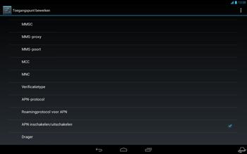 Acer Iconia Tab A3 - Internet - Handmatig instellen - Stap 14