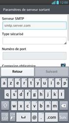 LG Optimus F5 - E-mails - Ajouter ou modifier un compte e-mail - Étape 12