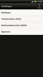 HTC S720e One X - SMS en MMS - Handmatig instellen - Stap 4