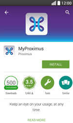 LG L70 - Applications - MyProximus - Step 8