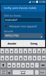 Samsung Galaxy Trend 2 Lite - Internet et connexion - Partager votre connexion en Wi-Fi - Étape 8