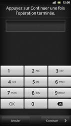 Sony Xpéria S - Sécuriser votre mobile - Activer le code de verrouillage - Étape 8