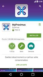 LG X Power - Applications - MyProximus - Étape 7