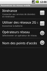 Samsung I5700 Galaxy Spica - Internet - Configuration manuelle - Étape 6